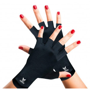 Arthritis Gloves by Copper Compression Gear - GUARANTEED To Speed Up Recovery and Relieve Symptoms of Arthritis, RSI, Tendonitis and More! (Pair of Gloves)