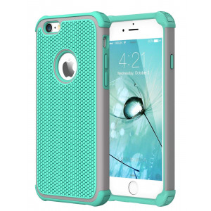 iPhone 6S Case,iPhone 6 Case,CHTech Double Durable Shockproof Case for Apple iPhone 6/6S 4.7 inch (Mint)