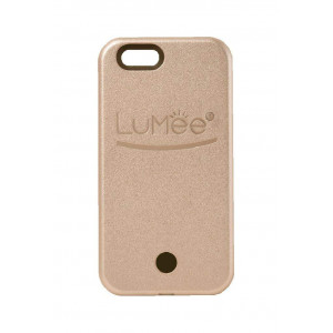 LuMee Original Phone Case, Rose Gold | LED Lighting, Variable Dimmer | Shock Absorption, Bumper Case, Selfie Phone Case | iPhone 5 / iPhone 5s / iPhone 5SE