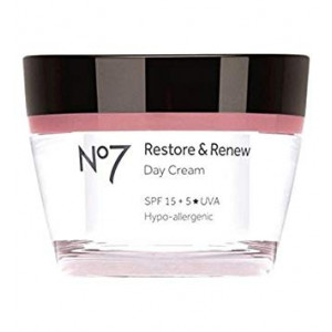 No7 Restore and Renew Day Cream Spf 15 50Ml
