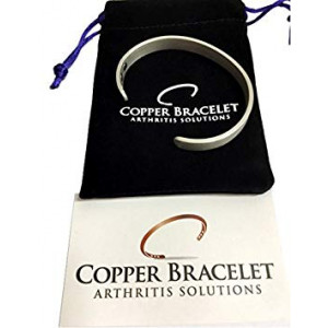 PEWTER Copper Bracelet for Arthritis - GUARANTEED 99.9% PURE Copper Magnetic Bracelet For Men and Women With 6 Powerful Magnets For Effective Relief Of Joint Pain, Arthritis, RSI, and Carpal Tunnel!