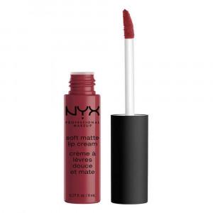 NYX Cosmetics Soft Matte Lip Cream, Budapest