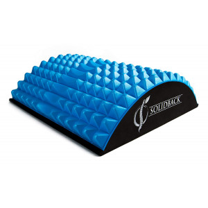 SOLIDBACK | Lower Back Pain Relief Treatment Stretcher | Chronic Lumbar Support | Herniated Disc | Sciatica Nerve | Spinal Stenosis | Posture Corrector | Pillow Cushion Brace Products Alternative
