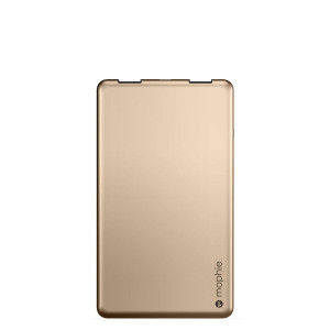mophie Powerstation 3X for Smartphones and Tablets (6,000 mAh) - Gold