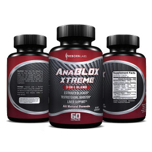 Estrogen Blocker and Testosterone Booster | Promotes Muscle Growth, Clarity, Energy | Best for Naturally Reducing Estrogen and Boosting Testosterone | With DIM and Added Liver Support | 1-Month Supply