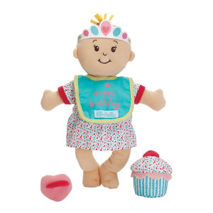 "Manhattan Toy Wee Baby Stella Sweet Scents 12"" Soft Baby Doll and Birthday Set"