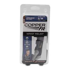 Copper Fit Compression Wrist Sleeve
