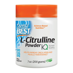 Doctor's Best L-Citrulline, Non-GMO, Vegan, Gluten Free, Soy Free, 200 Grams