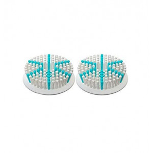 TAO Clean Aura Clean Orbital Facial Cleansing Brush Daily Care Replacement Head, 2-Pack