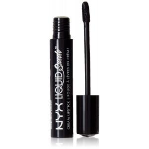NYX PROFESSIONAL MAKEUP Liquid Suede Cream Lipstick, Alien, 0.13 Fluid Ounce