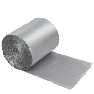 Anbers 2.6 Gallon Small Trash Can Liners, Grey, 140 Counts