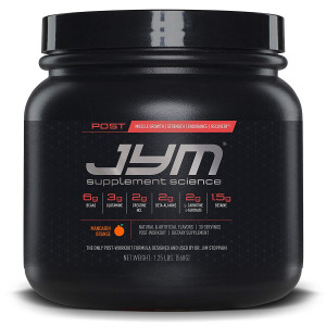JYM Supplement Science, POST JYM Active Matrix, Post-Workout with BCAA's, Glutamine, Creatine HCL, Beta-Alanine, L-Carnitine L-Tartrate, Betaine, Taurine, and more, Mandarin Orange, 30 Servings