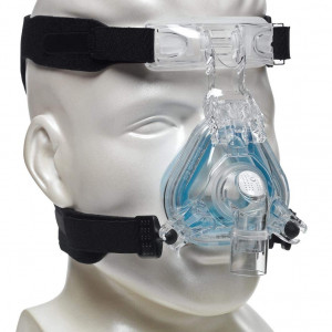 UNIVERSAL HEADGEAR for CPAP Masks Replace ResMed and Respironics - CPAP Headgear Straps compatible w/most sleep apnea masks (See List) - No Leaks,Tight Seal,Perfect Fit = Max Comfort (Mask NOT included)