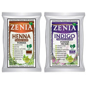 100g Zenia Indigo Henna + Henna Hair Color