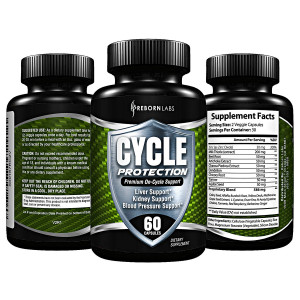 Cycle Support Supplement - Liver Cleanse, Estrogen Blocker, Organ Support | Premium On Cycle PCT Support Formula | With Zinc as Natural Aromatase Inhibitor and Testosterone Booster for Men | 60 Capsules