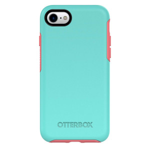 OtterBox 77-54021 SYMMETRY SERIES Case for iPhone 8 and iPhone 7 (NOT Plus) - CANDY SHOP (AQUA MINT/CANDY PINK)