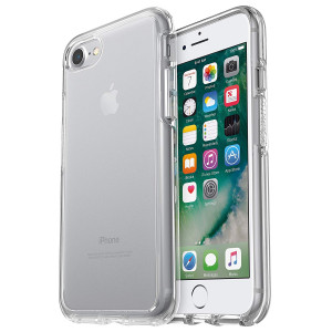 OtterBox Symmetry Clear Series Case for iPhone 8 and iPhone 7 (NOT Plus) - Frustration Free Packaging - Clear