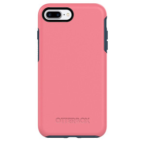 OtterBox SYMMETRY SERIES Case for iPhone 7 Plus (ONLY) - SALTWATER TAFFY (PIPELINE PINK/BLAZER BLUE)