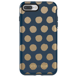 OtterBox SYMMETRY SERIES Case for iPhone 8 Plus and iPhone 7 Plus (ONLY) - FIREFLY (BLAZER BLUE/FIREFLY GRAPHIC)
