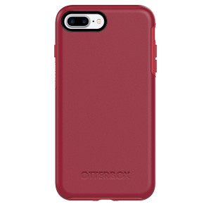 OtterBox SYMMETRY SERIES Case for iPhone 7 Plus (ONLY) - ROSSO CORSA (FLAME RED/RACE RED)