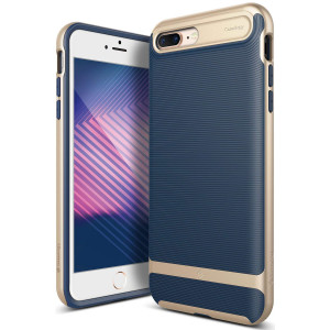 Caseology [Wavelength Series] iPhone 8 Plus/iPhone 7 Plus Case - [Stylish and Protective] - Navy Blue