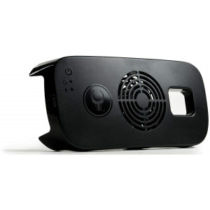Samsung Gear VR Cooling Fan (COMPATIBLE W/ WHITE 2015 consumer edition gen. 3 - SM-R322 ONLY) Satori VR Fan w/ built-in rechargeable battery by Asterion Products (Samsung Gear VR NOT included)
