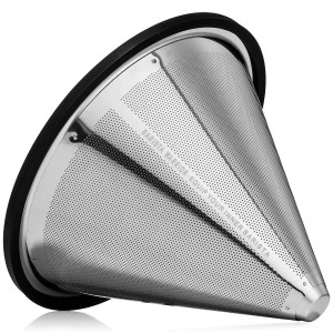 Pour Over Filter for Hario V60 and Chemex - Reusable Coffee Filter for Hario V60 Filter and Chemex Coffee Filter