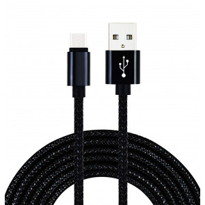 Type C USB Charger Cable, UNISAME 6Ft Heavy Duty Braided USB C Data Sync Fast Charging Cable for Galaxy Note 9 8 S8 S9 Plus, LG G7 G6 G5 V20, Nexus 5X 6P, Oneplus 6 5, Moto Z, Nintendo Switch