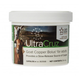UltraCruz Goat Copper Bolus for adults, 25 count x 4 grams