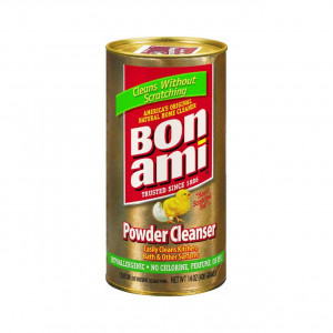 Bon Ami Polishing Cleanser Powder, 14 Ounces, Pack of 2,Red