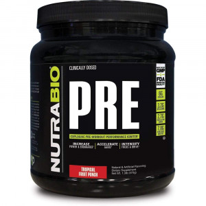 NutraBio PRE Workout V5 - Tropical Fruit Punch