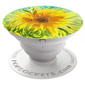 PopSockets: Collapsible Grip and Stand for Phones and Tablets - Sunflower