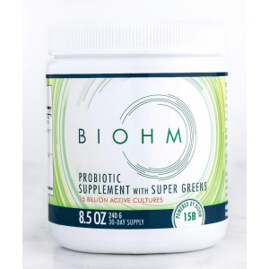 25 Percent Off 2 or More Mix n Match. BIOHM Super Greens: Probiotic Supplement with Organic Super Greens, for Digestive Health and Flora, Superfood High in Fiber Drink Mix, Powder Formula 240g