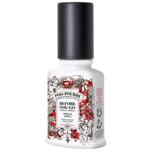 Poo-Pourri Before-You-Go Toilet Spray 2 oz Bottle, Spiced Apple Scent