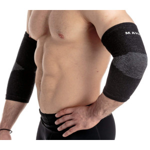 Mava Sports Elbow Sleeve Recovery Compression  Support for Workout