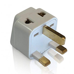 UK Travel Adapter Best Tmvel 2 in 1 Type G Plug - Electrical Outlets in United Kingdom, Ireland, Great Britain, Scotland, England, London, Dublin, Hong Kong