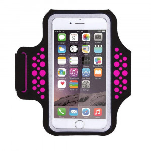 Triomph Armband iPhone X, iPhone 8 Plus, 7 Plus, 6 Plus, 6s Plus, iPod Galaxy S6, S6 Edge, S7 Edge Plus Key Cards Money Holder Running, Sports, Jogging, Hiking, Biking 5.8''