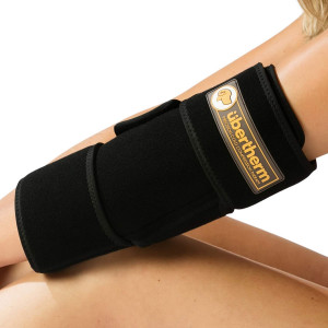 bertherm Elbow Pain Relief Cold Wrap: New Technology Compression Ice Pack for Unique Sting-Free Cold Therapy and Sports Icing
