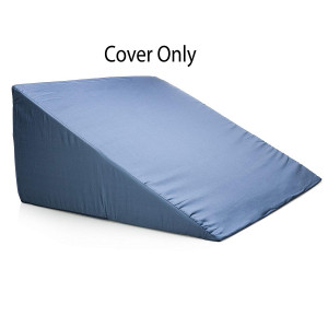 Bed Wedge Pillow Case - Cover 24x24x12 - Fits Most Full Size Sleep Wedges