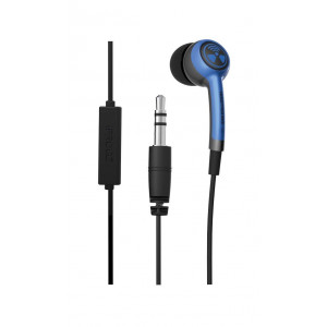 iFrogz/Zagg iPhone Wired Headsets - Blue