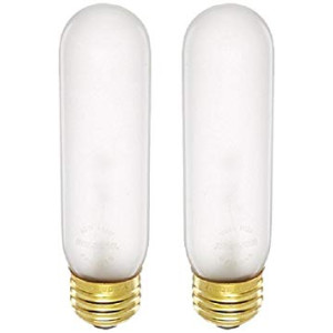 Bulbrite 40T10F 40-Watt Incandescent T10 Tubular Light, Frost (FROST - 2 Pack)