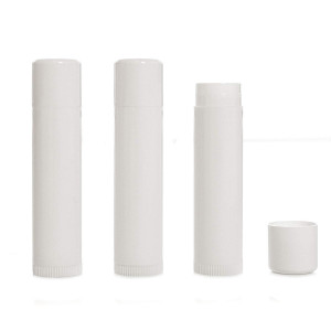 Milliard Lip Balm Crafting Tube Refills - 50 Pack - White