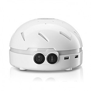 HemingWeigh White Noise Sound Machine  Quality Sounds Masks Disturbing Noise and Reducing Sound for Improved Sleep Relaxation and Enriched Concentration - Built in USB and LED Night Light.