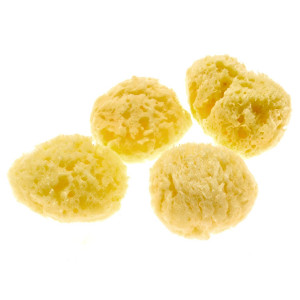 Evergreen Pet Supplies 4-Pack of Natural Hermit Crab Sea Sponges - All Natural Sponge for Crabs - Assists Safer Drinking, Provides Nutrients, Balances Tank Humidity
