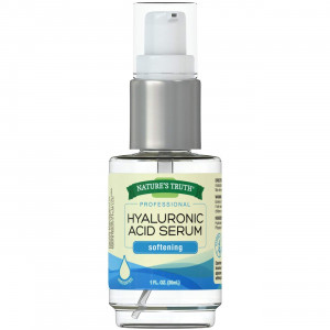 Nature's Truth Professional Strength Hyaluronic Acid Serum, 1 Fluid Ounce