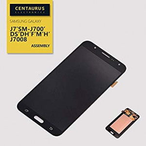 Assembly For Samsung Galaxy J7 J700 J700H J700M J700DS J700F J700T J700P Touch Screen Digitizer LCD Display Full Replacement Black