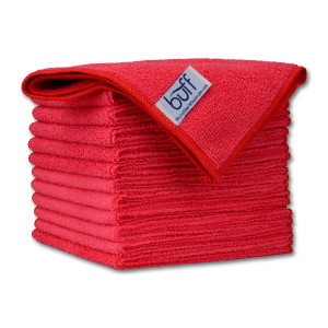 """12"""" x 12"""" Buff Pro Multi-Surface Microfiber Towels 