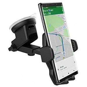 Samsung Galaxy S8 Car Mount Holder - Windshield/Dashboard Compatible (by Encased)