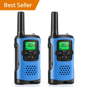 Walkie Talkies for Kids, Toys for 3-12 Year Old Boys 2 Way Radio 3 Mile Long Range Kids Toys and Handheld Kids Walkie Talkies, Best Gifts and Top Toys for Boy and Girls age 3 4 5 6 7 8 9
