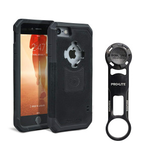 Rokform [iPhone 7 and 8] PRO-LITE Aluminum Bike Mount / Holder and Protective Phone Case, Twist Lock and Magnetic Security
